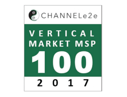 NetLogix Named to ChannelE2E Top 100 Vertical Market MSPs: 2017 Edition